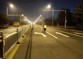 淮安市北京南路,路口改造