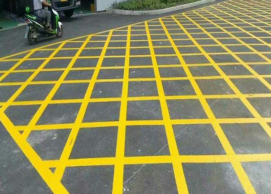 禁停网格划线