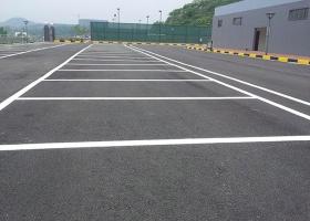 停车场划线